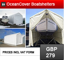 Oceancover boats shelters, storage for you boat